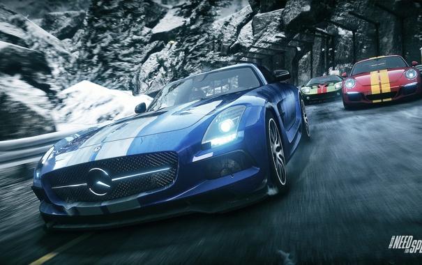 Фото обои гонка, 911, Porsche, занос, Mercedes, Ford GT, drift