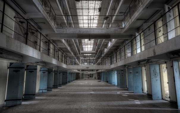 Фото обои интерьер, камеры, тюрьма