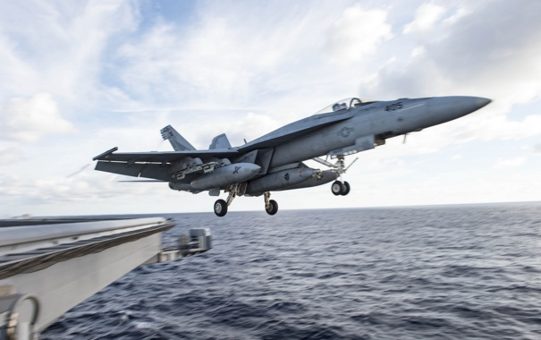Фото обои оружие, самолёт, Super Hornet, FA-18E