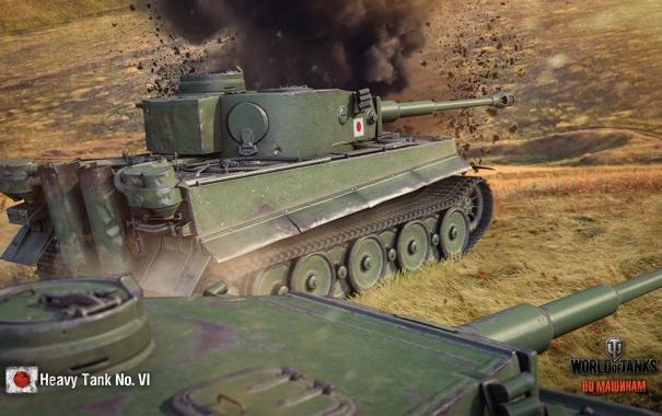 Фото обои tank, танк, танки, World of Tanks, Япония, Heavy Tank No. VI, Wargaming.Net