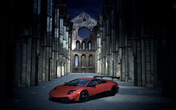 Фото обои авто, обои, игра, тачка, суперкар, lamborghini, Sony