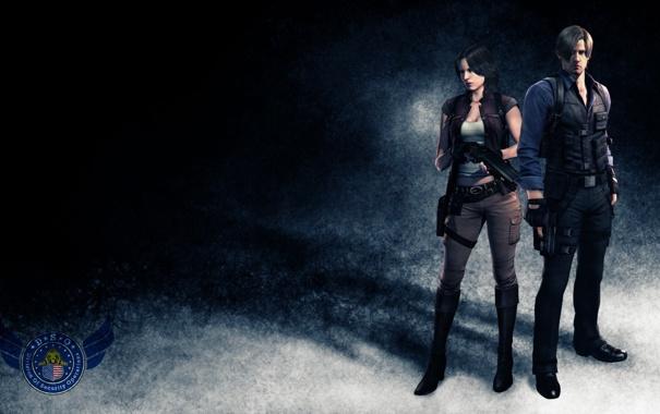 Фото обои Resident Evil, Resident Evil 6, Leon Scott Kennedy, Helena Harper