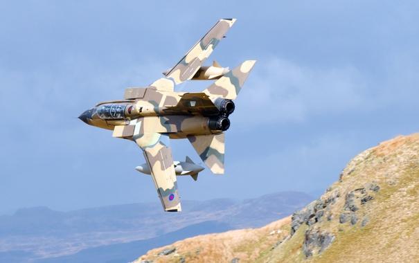 Фото обои оружие, самолёт, Торнадо
