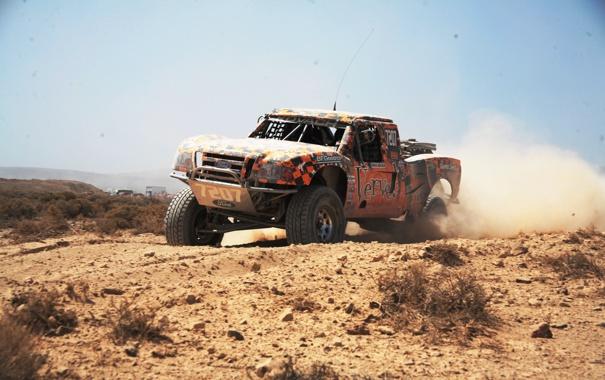 Фото обои дорога, машина, природа, гонка, пыль, ford, ралли