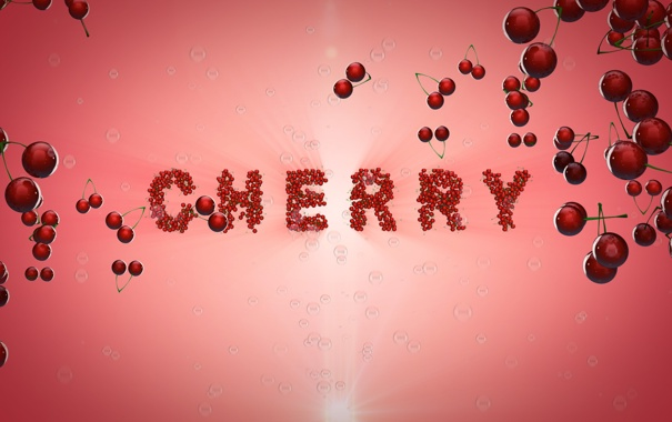 Фото обои вишня, Cherry, много