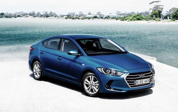 Фото обои Hyundai, Elantra, хундай, элантра, Avante