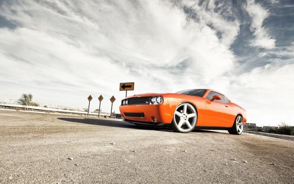 Фото обои тачки, додж, cars, dodge, challenger, auto wallpapers, авто обои