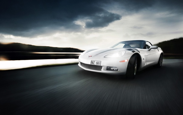 Фото обои Z06, Corvette, Chevrolet