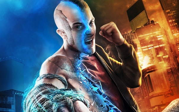Фото обои дома, тату, боец, кулак, крик, верёвка, Ubisoft Entertainment