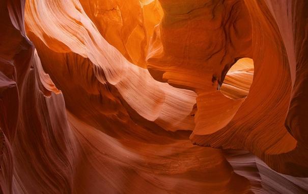 Фото обои лабиринт, пещера, красная