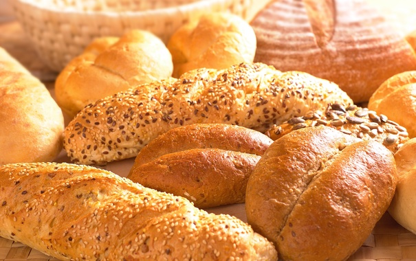 Фото обои products, breakfast, bread products, bread