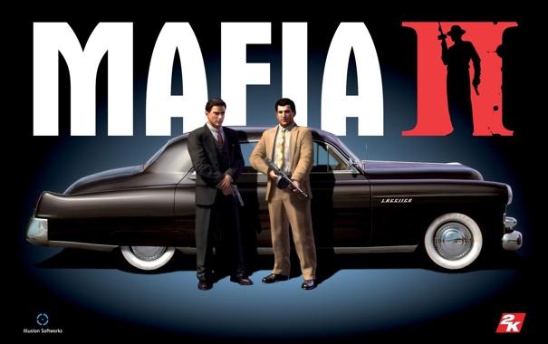 Фото обои оружие, герои, mafia2