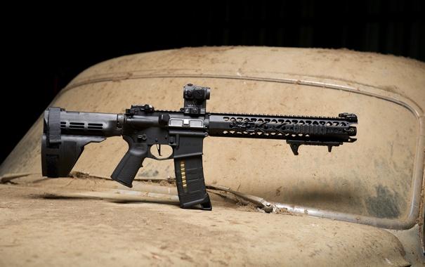 Фото обои оружие, карабин, штурмовая винтовка