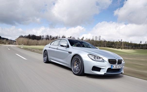 Фото обои Авто, Дорога, BMW, Машина, Бумер, Серый, БМВ