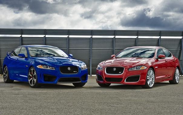 Фото обои Jaguar, ягуар, mixed, XFR-S