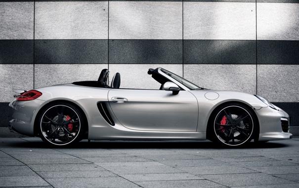 Фото обои Porsche, 2012, порше, сбоку, Boxster, TechArt, бокстер