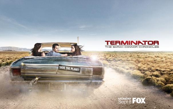 Фото обои пустыня, калифорния, Terminator, Саммер Глау, Терминатор Битва за будущее