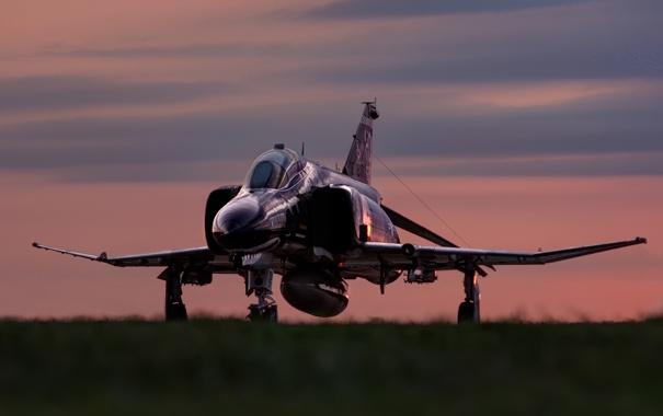Фото обои истребитель, F-4, многоцелевой, Phantom II, McDonnell Douglas, «Фантом» II