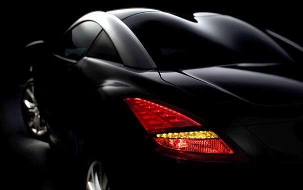 Фото обои стиль, пежо, задний фонарь, Peugeot RCZ