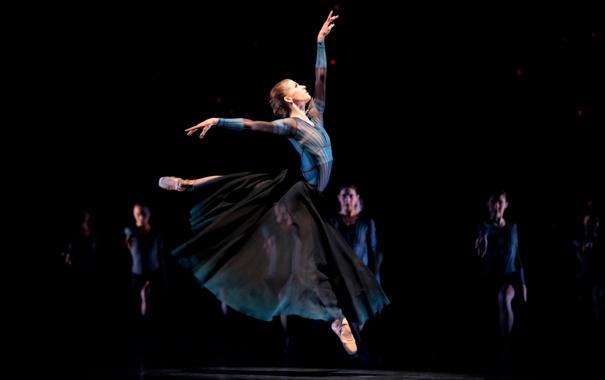 Фото обои движение, девушки, танец, балет, хьюстон, Houstons, ballets