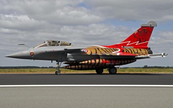 Фото обои многоцелевой, Thundertiger, истребитель, Rafale C