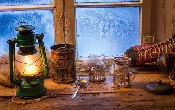 Картинки на стол зима окно