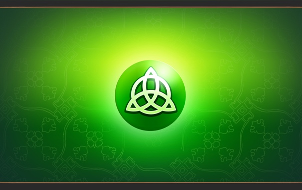 Фото обои symbol, celta, triqueta, Triquetra