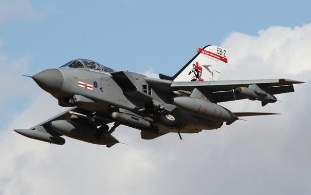 Фото обои кабина, самолёт, реактивный, истребитель-бомбардировщик, Panavia Tornado