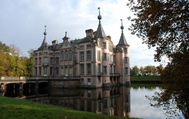 Фото обои Belgium, POEKE CASTLE, East Flanders, Aalter