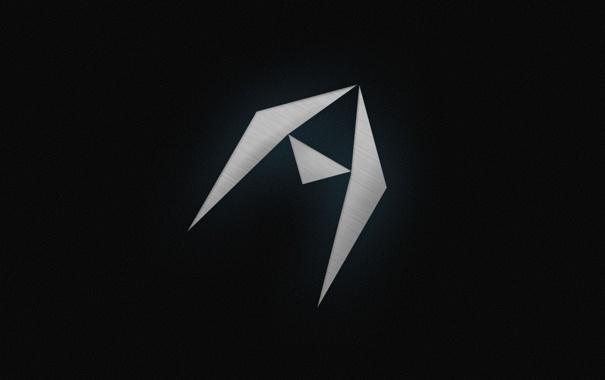 Фото обои треугольники, Фон, символ