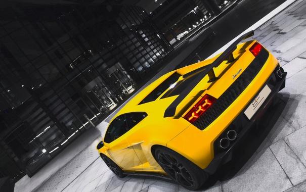Фото обои Gallardo, Spyder, Performance, GT600