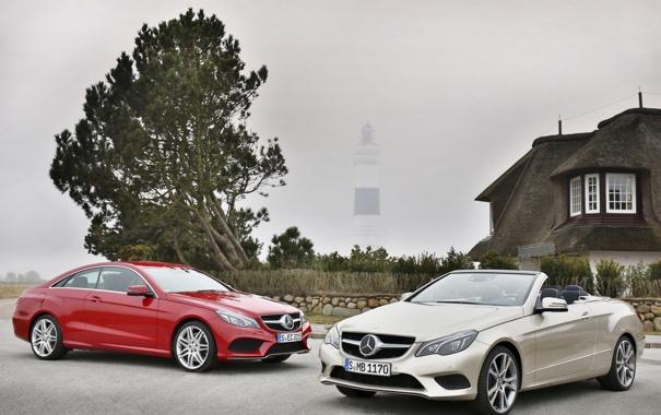 Фото обои авто, Mercedes-Benz, мерседес, Coupe, Cabrio, E-Klasse