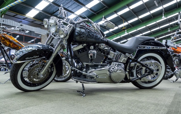 Фото обои дизайн, мотоцикл, байк, Harley-Davidson