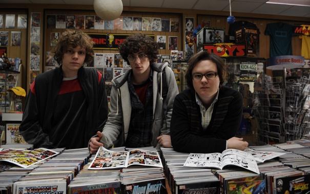 Фото обои книги, журналы, комиксы, магазин, Пипец, Kick-Ass, Аарон Тейлор-Джонсон