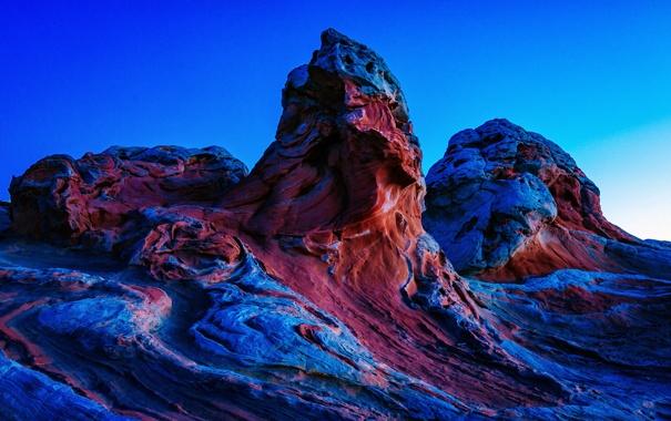 Фото обои камни, рельеф, National Monument, Arizona