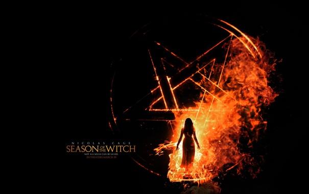 Фото обои фильм, время ведьм, Nicolas Cage, season of the witch, ведьма.