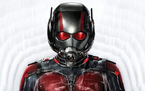 Фото обои фон, фантастика, костюм, шлем, супергерой, комикс, Человек-муравей
