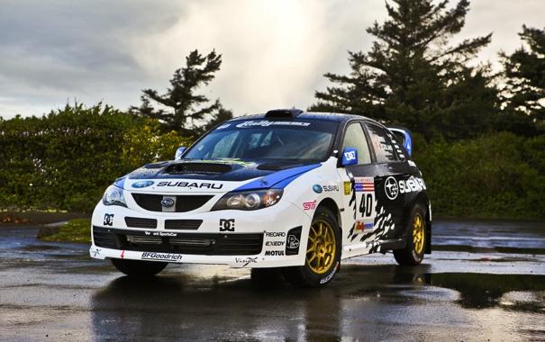 Фото обои Subaru, STI, OlympusRally