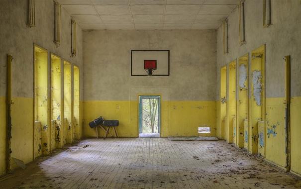 Фото обои спорт, интерьер, зал