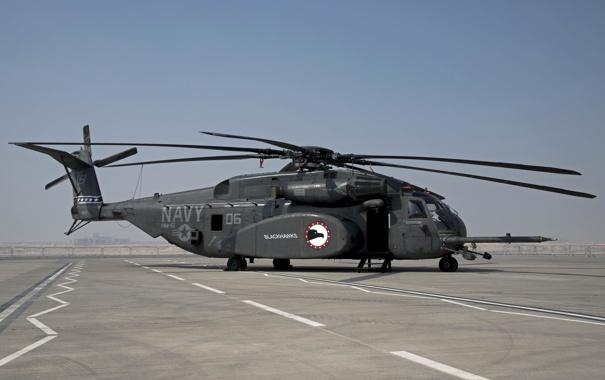 Фото обои вертолёт, Sikorsky, Sea Dragon, MH-53M