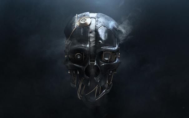 Фото обои маска, bethesda, ps3, сверхспособности, dishonored, softworks, дисхонорд