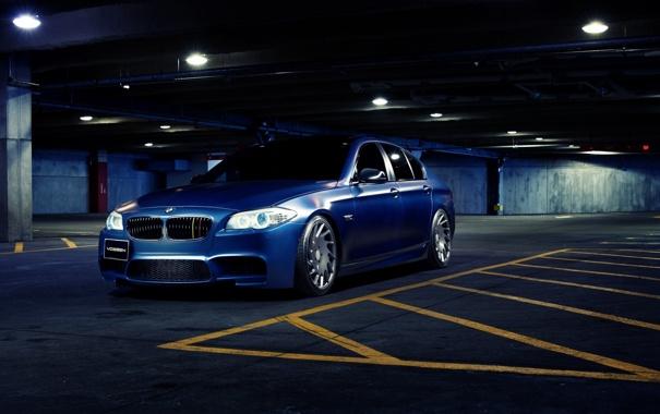 Фото обои BMW, Front, F10, Vossen, Wheels, Edition, Limited