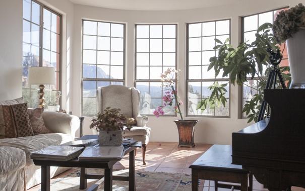 Фото обои комната, мебель, окна