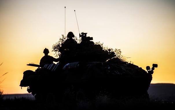 Фото обои оружие, солдаты, u.s. marines