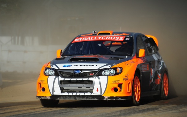 Фото обои car, Subaru, Impreza, WRX, rally, race, STi