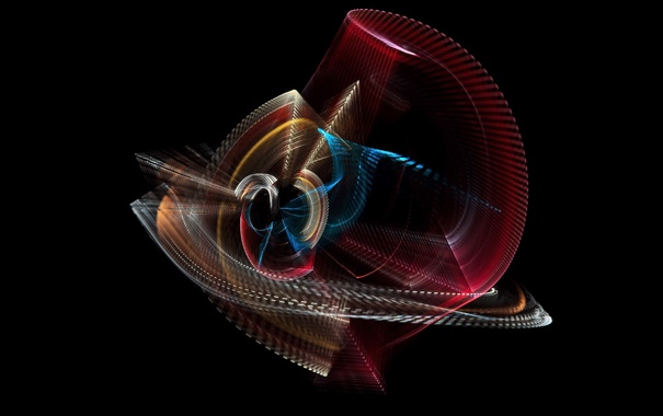 Фото обои абстракця, форма, цвет