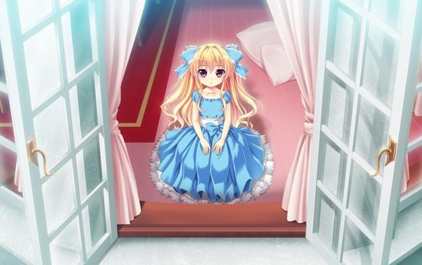 Фото обои Single, Game CG, Kamiwazumi Chinami, Baka Moe Heart ni Ai wo Komete!