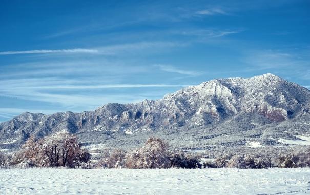 Фото обои зима, снег, горы, Colorado