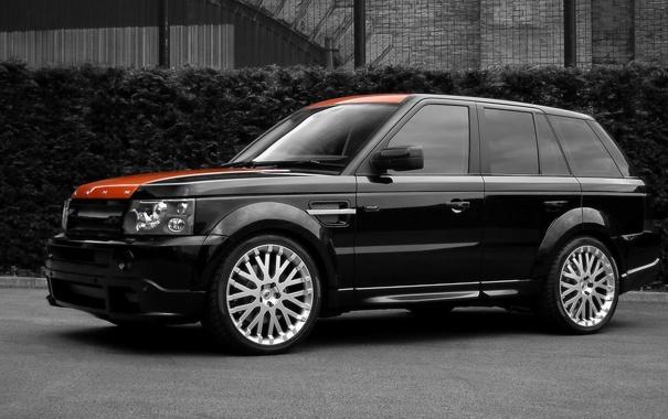 Фото обои внедорожник, Land Rover, Range Rover