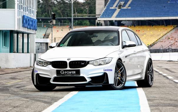 Фото обои бмв, BMW, G-Power, F30, 2015